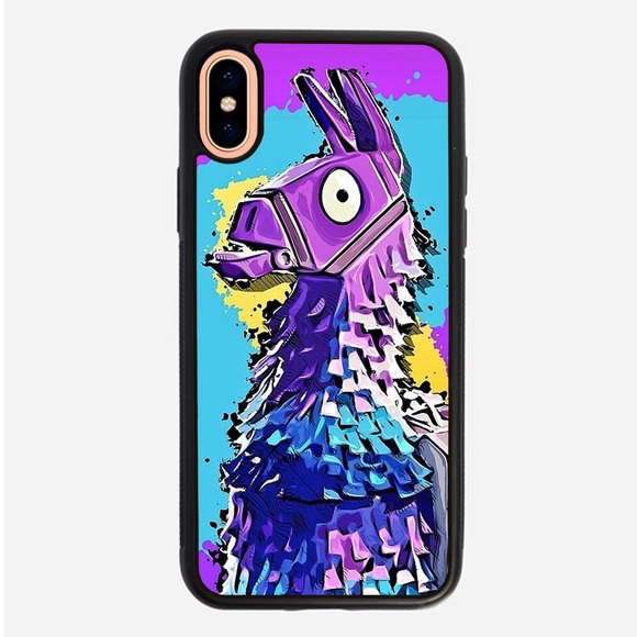 on sale 958a6 fadac Fortnite Llama iPhone X XS 8 plus 7 6 plus 6S SE 5